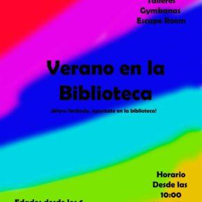 'Verano en la biblioteca' continúa sus talleres en Astillero