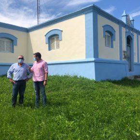 Finalizadas las obras de mantenimiento en el depósito de aguas de Guarnizo