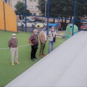 Avanza el plan de reparaciones y mantenimiento de las instalaciones deportivas
